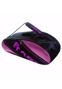 Fleet 2 Zips + Side + Shoe Compartment FT 307 Purple Purple Badminton Bag