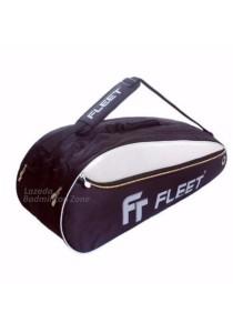 Fleet 2 Zips + Side + Shoe Compartment FT 105 Gold Badminton Bag