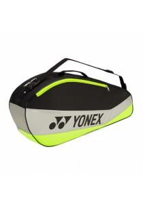 [100% Authentic] Yonex 5523 Black Lime Club Series (3 Racket) Single Badminton Sport Bag