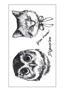 Discovery Temporary Tattoos