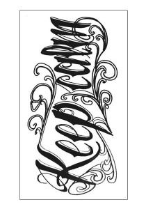 Keep Calm Temporary Tattoos