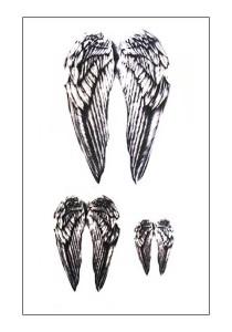 Wings Temporary Tattoos