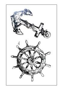 Sail Away Temporary Tattoos