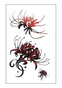 Wild Flowers Temporary Tattoos