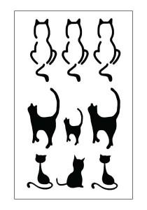 Alleycats Temporary Tattoos