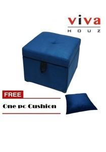 Boston Storage Ottoman / Sofa (Free 1 Matching Pillow)