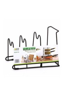 Multipurpose Kitchen Pot and Pan Drying Rack Shelf Holder