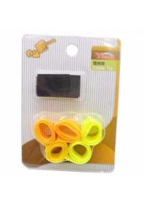 Colorful Cable Wire Tie Storage and Organization (5-in-1)