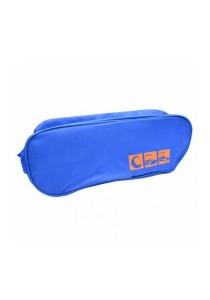 Travel Shoe Organizer Bag (Blue)