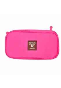 Travel Underwear Organizer Bag (Pink)