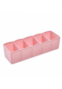 Multifunctional Wardrobe Bra Underwear Ties Socks Storage Drawer Organizer (Pink)