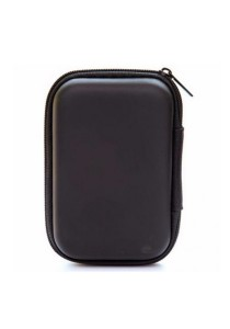 Earphone Cable Key Travel Storage Pouch Organizer (Black)