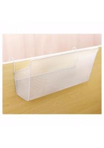 Home or Office Hanging Storage Organizer Shelf (White)