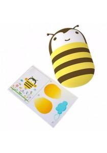 Kids Children Auto Sensor LED Cute Night Light with Wallpaper (Bee)