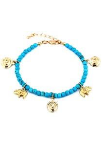Caron Boutique Bracelet (Turquoise)