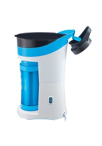 Brew & Go Personal Coffee Maker with 500ml Travel Bottle - Blue