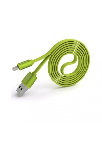 Pineng PN-302 Speed And Data Lightning Cable (Green)