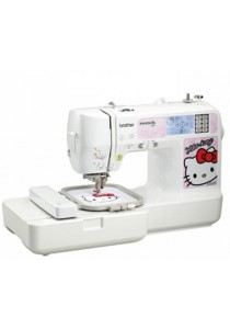 Brother NV980K Embroidery Sewing Machine with Built-in Hello Kitty Embroidery Patterns