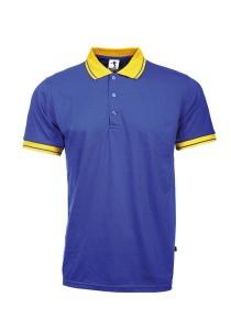 Cotton Polo T Shirt BSC SS 02 (Royal Blue)