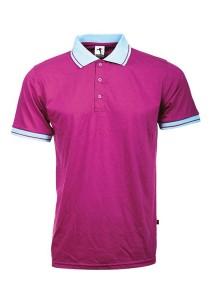Cotton Polo T Shirt BSC SS 05 (Purple)