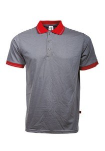 Cotton Polo T Shirt BSC SS 09 (Charcoal)