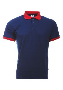 Cotton Polo T Shirt BSC SS 10 (Navy)