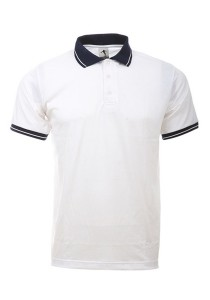 Cotton Polo T Shirt BSC SS 11 (White)