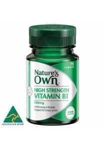 Natures Own Vitamin B1 250mg (75 Tablets)