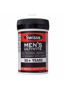 Swisse Men's Ultivite 50 Bottle of (60 Tablets)