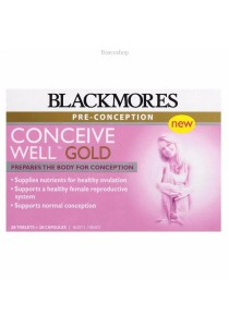 Blackmores Conceive Well Gold 56 Tablets (28 Tablets + 28 Capsules)
