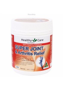 Healthy Care Super Joint & Arthritis Relief (200 Capsules)