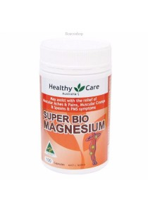 Healthy Care Super Bio Magnesium (100 Capsules)