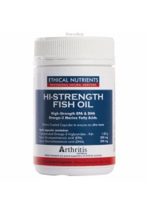 Ethical Nutrients Hi Strength Fish Oil (120 Capsules)