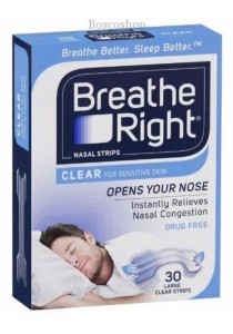 Breathe Right Nasal Strips Clear Regular Size 10 Strips