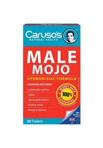 Carusos Natural Health Male Mojo (30 Tablets)