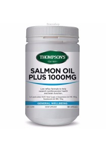 Thompson's Salmon Oil Plus 1000mg (500 Capsules)