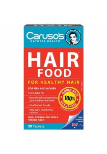 Carusos Natural Health Figaro Hair Food Plus (30 Tablets)