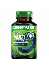 Cenovis Men's Once Daily Multivitamin + Performance (50 Capsules)