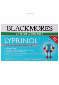 Blackmores Lyprinol Marine Value Pack (100 Capsules)