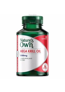 Natures Own Mega Krill Oil 2000mg (30 Capsules)