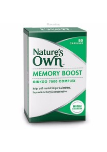 Natures Own Memory Boost (50 Capsules)