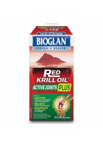 Bioglan Red Krill Oil Active Joints Plus (90 Capsules)