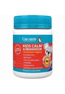 Carusos Natural Health Kids Calm and Behaviour (75g)