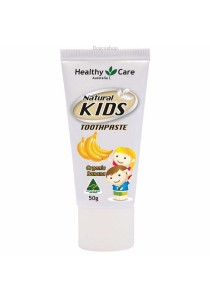 Healthy Care Natural Kids Toothpaste Organic Banana Flavour (50g)