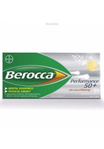 Berocca Performance 50+ Effervescent 30 Tablets