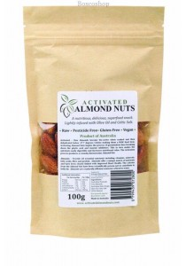 ACTIFOODS Almonds Activated, Raw & Pesticide Free (100g)