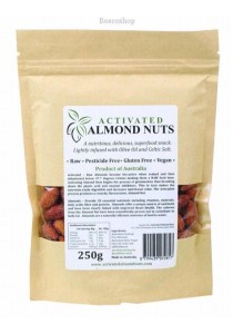 ACTIFOODS Almonds Activated, Raw & Pesticide Free (250g)