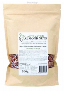 ACTIFOODS Almonds Activated, Raw & Pesticide Free (500g)
