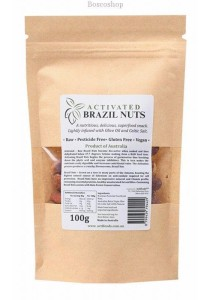ACTIFOODS Brazil Nuts Activated, Raw & Pesticide Free (100g)