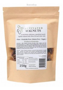 ACTIFOODS Walnuts Activated, Raw & Pesticide Free (250g)